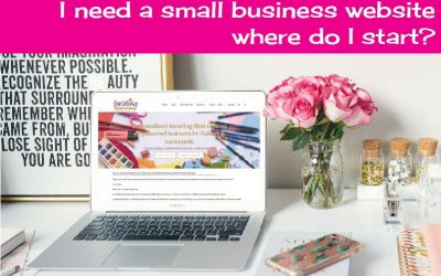 I need a small business website where do I start?