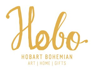 logo design for small businesses in Hobart for Hobo Art and Homewares from She Rocks Digital