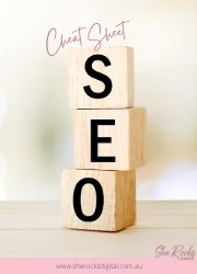 SEO checklist from She Rocks Digital