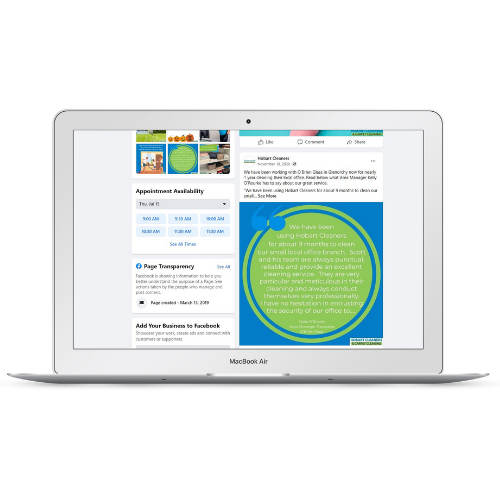 graphic design digital marketing packages for social media templates at she rocks digital hobart