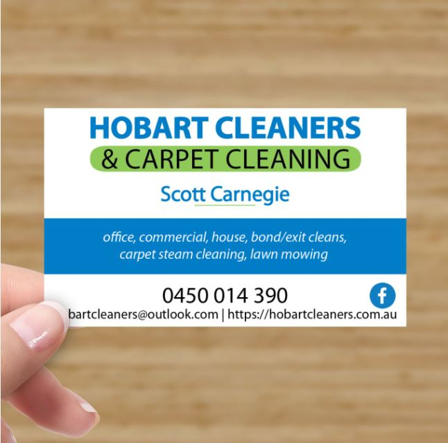 graphic design services business card design at she rocks digital hobart