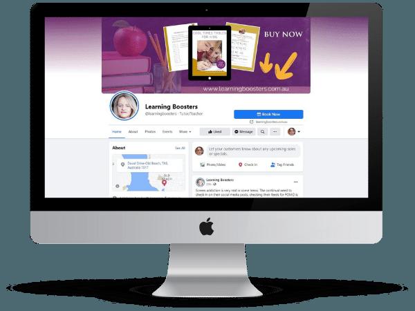 facebook graphic design services at she rocks digital hobart