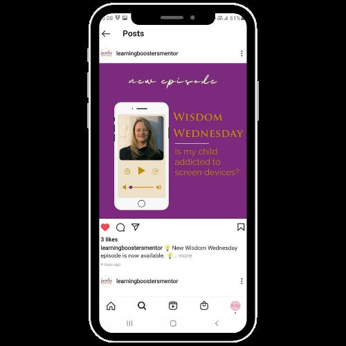 graphic design services for social media at she rocks digital hobart